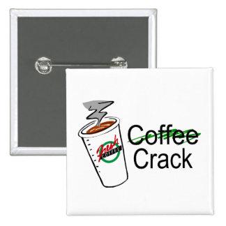 Grieta 2 del café pin