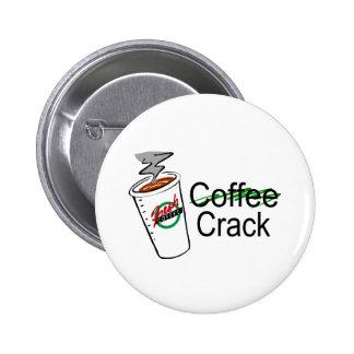 Grieta 2 del café pins