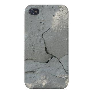 Grieta blanca de la pintura iPhone 4/4S carcasa