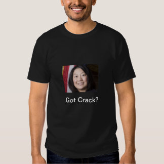 Grieta conseguida camisas