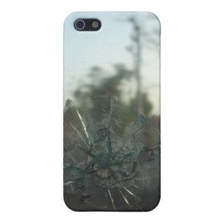 Grieta de cristal: Caso mate del iPhone 5/5S del iPhone 5 Carcasas