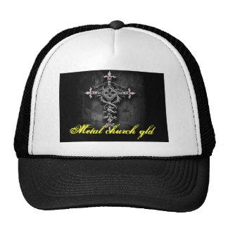 Grieta de la iglesia del metal gorra