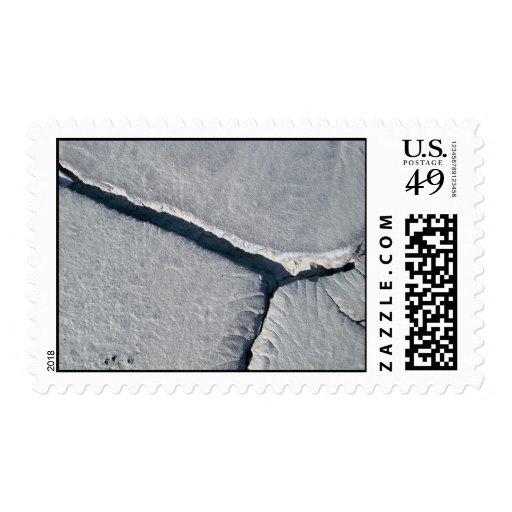 Grietas en sello del fango