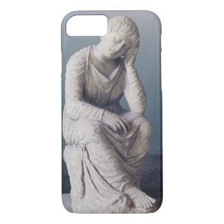 Grieving maiden, Attic, Greece, c.330 BC (stone) iPhone 7 Case