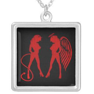 Grievous Angels Necklace Square Pendant Necklace