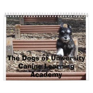 Griff_OnHurdles4 corrigen, los perros de la Calendario De Pared