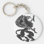 Griffin Basic Round Button Keychain