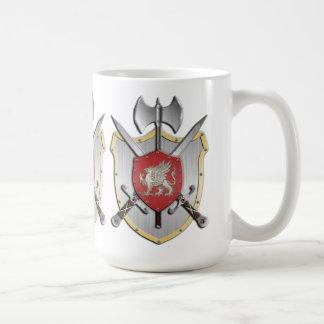 Griffin Battle Crest Classic White Coffee Mug