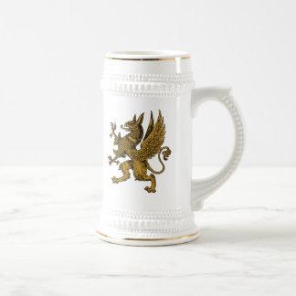 Griffin Beer Stein