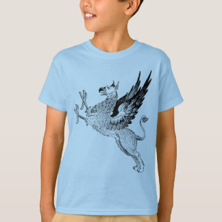griffin blue kids t T-Shirt