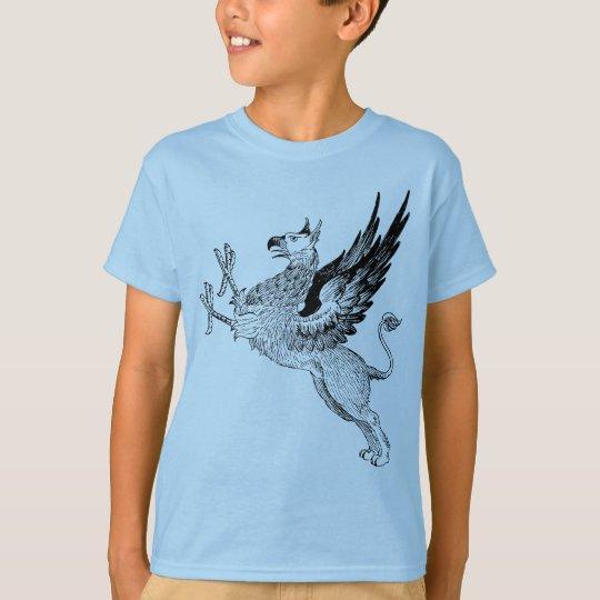 griffin blue kids t T-Shirt