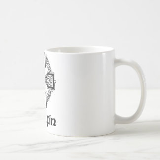 Griffin Celtic Cross Coffee Mug