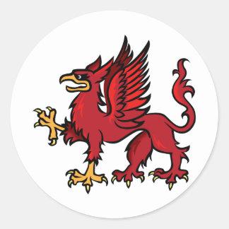 Griffin Classic Round Sticker