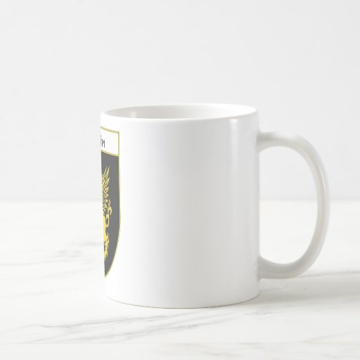 Griffin Coat of Arms/Family Crest Coffee Mug