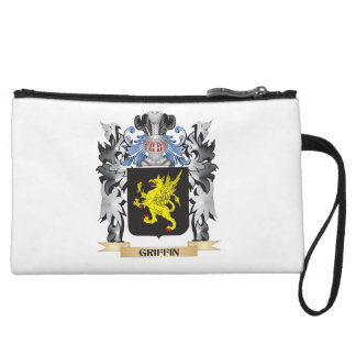 Griffin Coat of Arms - Family Crest Wristlet