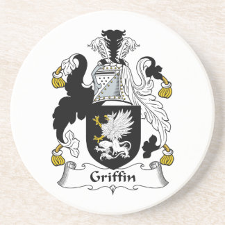 Griffin Family Crest Beverage Coasters