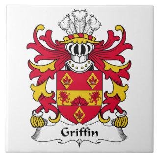 Griffin Family Crest Ceramic Tile