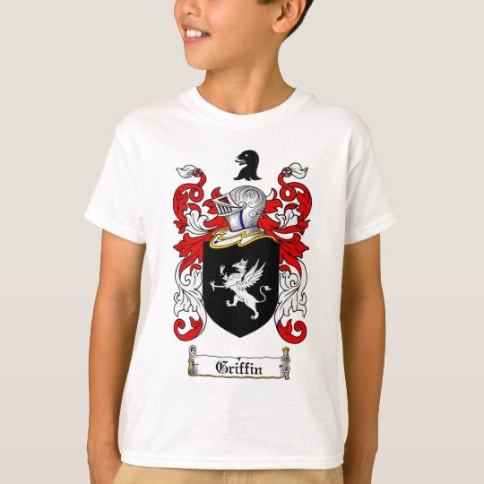 GRIFFIN FAMILY CREST -  GRIFFIN COAT OF ARMS T-Shirt
