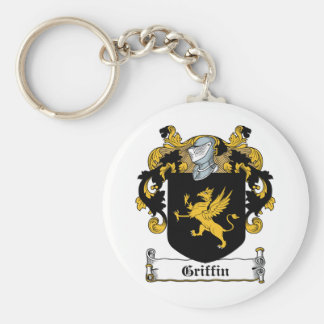Griffin Family Crest Key Chains