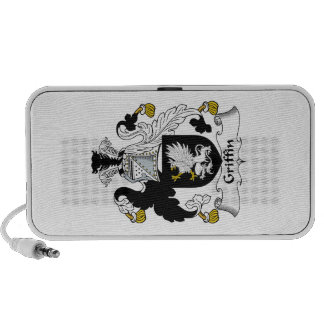 Griffin Family Crest Laptop Speakers