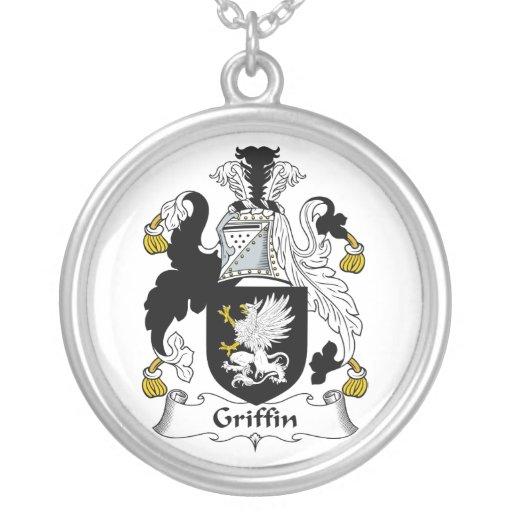 Griffin Family Crest Pendants