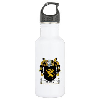 Griffin Family Crest 18oz Water Bottle