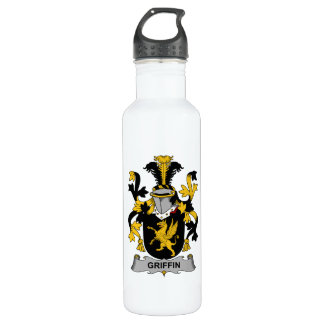 Griffin Family Crest 24oz Water Bottle