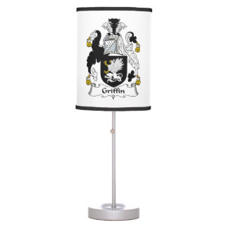 Griffin Family Crest Table Lamp