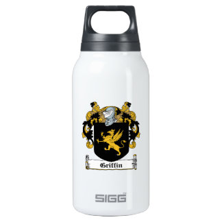 Griffin Family Crest Thermos Water Bottle