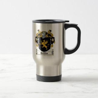 Griffin Family Crest Travel Mug
