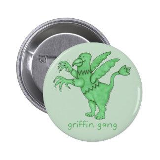 "Griffin Gang 2-1/4"" Round Pinback Button"