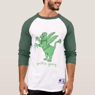 Griffin Gang Men's 3/4 Sleeve Raglan T-shirt