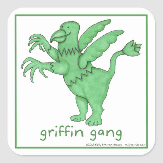 Griffin Gang stickers