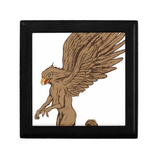 Griffin, Gryphon, or Griffon Keepsake Box