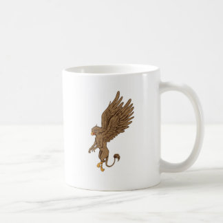 Griffin, Gryphon, or Griffon Classic White Coffee Mug