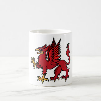 Griffin Classic White Coffee Mug