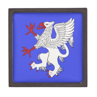 Griffin Rampant Argent Jewelry Box