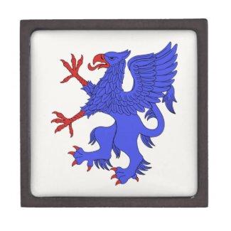 Griffin Rampant Azure Gift Box