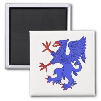 Griffin Rampant Azure Magnet