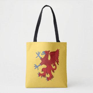 Griffin Rampant Gules Tote Bag