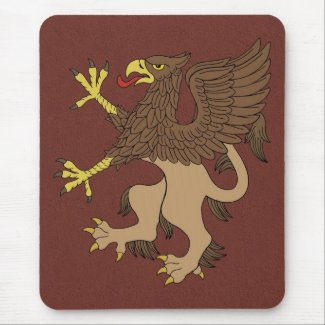 Griffin Rampant Mouse Pad