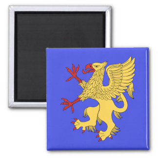 Griffin Rampant Or Magnet