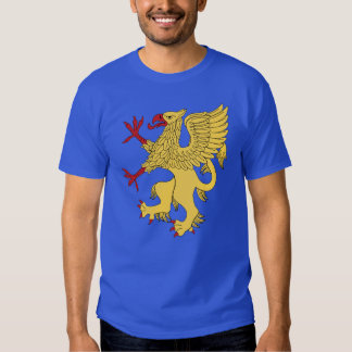 Griffin Rampant Or T Shirt
