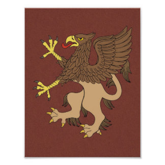Griffin Rampant Print Photograph