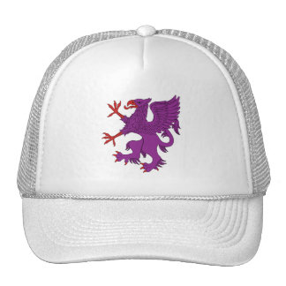 Griffin Rampant Purpure Hat