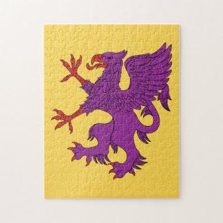 Griffin Rampant Purpure Puzzle