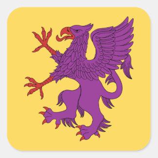 Griffin Rampant Purpure Stickers