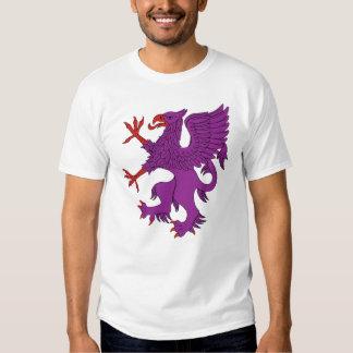 Griffin Rampant Purpure T Shirt