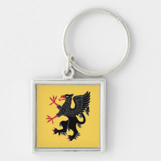 Griffin Rampant Sable Keychain