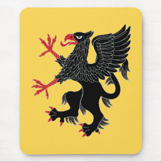 Griffin Rampant Sable Mouse Pad